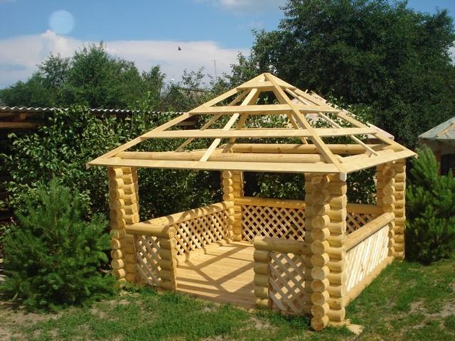 четырёхскатная крыша