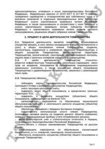 Устав ТСН Электрон стр.3
