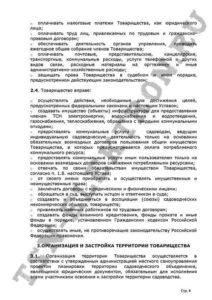 Устав ТСН Электрон стр.4
