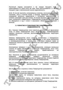 Устав ТСН Электрон стр.13