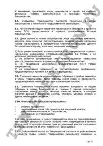 Устав ТСН Электрон стр.14