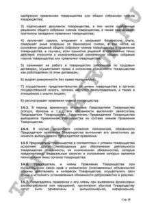 Устав ТСН Электрон стр.29