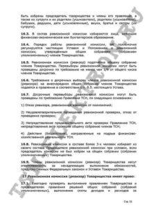 Устав ТСН Электрон стр.31